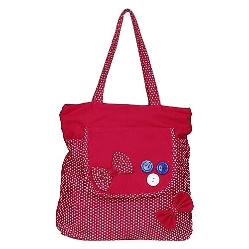 13a7dc943f Aadhunik Libaas WhiteAsh Women's Cotton Tote Bags, Shopping Bags, College  Bags