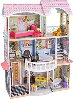 KidKraft 65907 dockhus Magnolia Mansion, färgglad