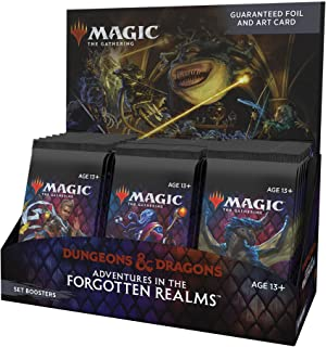Magic: The Gathering Adventures in the Forgotten Realms Set Booster Box | 30 Packs (360 Magic Cards)