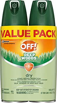 2-Count Off! Deep Woods Insect Repellent VIII Dry 4 Oz