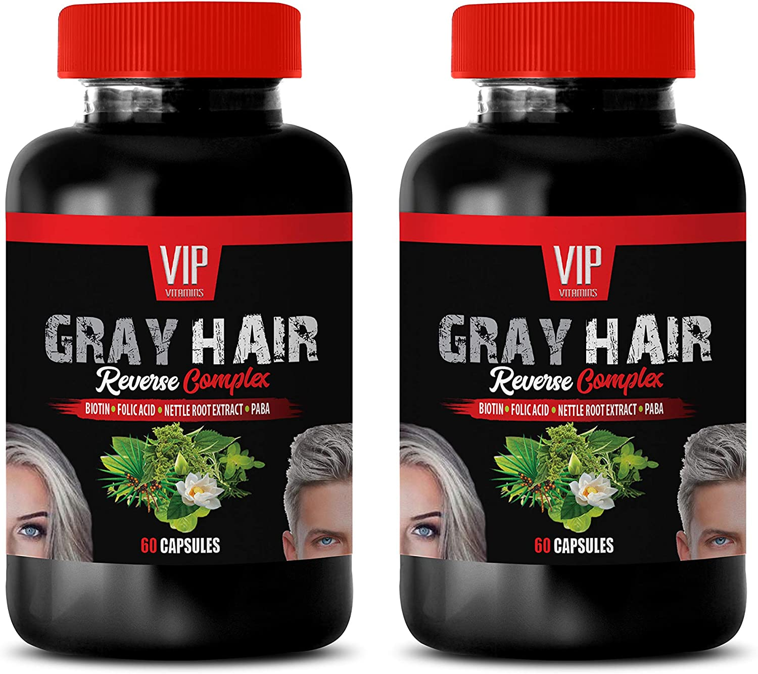 SALENEW very popular Grey Hair 2021new shipping free shipping Vitamins for Women Reverse Gray Complex Natur -