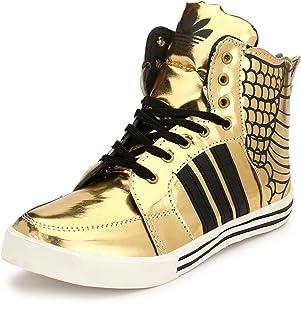 Gold Men's Sneakers: Buy Gold Men's
