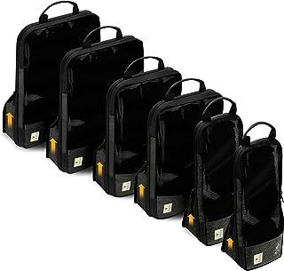 مكعبات تعبئة الضغط للسفر من فاسكو - مجموعة فاخرة من 3 حقائب لتنظيم الأمتعة