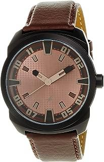 Fastrack OTS Sports Analog Brown Dial Men's Watch -NK9463AL05