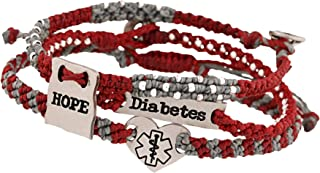 Guatemalan Hope for a Cure Diabetes Bracelets - Set of 3