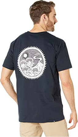 Lehua and Volcano Tee Shirt