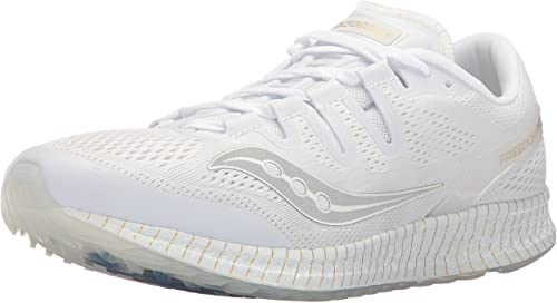 Saucony Libredom ISO Unisex Road-FonctionneHommest-chaussures, blanc or, 4 Medium US