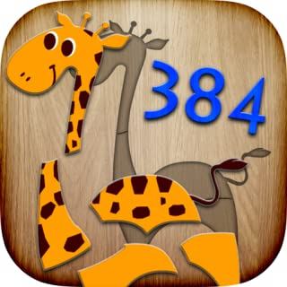 384 Puzzles for Kids - educational game with children learning first words & pronunciations