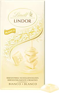 Lindt Lindor Tableta de Chocolate Blanco, 100 g