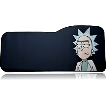 """Anti Slip /"""" Rick And Morty Extended Size Custom Professional Gaming Mouse Pad"""