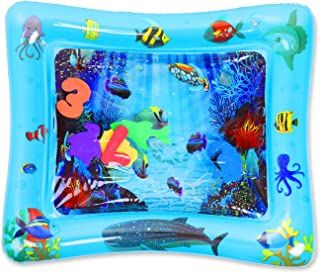 MUCH Inflatable Tummy Time Water Play Mat for Children Babies Infants BPA Free
