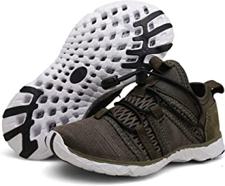 KVbaby Boy's Girl's Slip-on Quick Dry Aqua Water Shoes Breathable Sneakers Lightweight Athletic Running Shoes