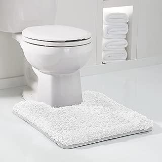 Genteele Non-Slip Memory Foam Contour Shaggy Bathroom Mat, Water Absorbent, Super Plush Bath Mat, Washable Bathroom Rug, 20