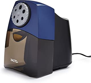 X-ACTO Electric Pencil Sharpener | Teacher Pro Pencil Sharpener for Classrooms, Quiet Electric Motor, Adjustable to Six Pencil Sizes