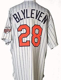 1988 Bert Blyleven, Minnesota Twins, Game Worn Jersey, Rawlings Size 48 - MLB Game Used Jerseys