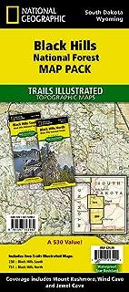 Black Hills National Forest [Map Pack Bundle] (National Geographic Trails Illustrated Map)