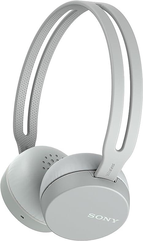 Sony WHCH400H - Auriculares inalámbricos (Bluetooth, NFC, micro para llamadas con manos libres, óptimo para trabajar en casa), Gris: Amazon.es: Electrónica