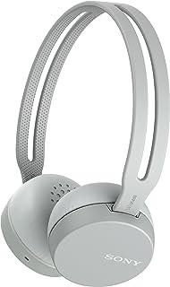 Sony WH-CH400 True Wireless Sport Hoofdtelefoon met Noise Cancelling inclusief oplaad-etui (IPX4 waterbestendig, extra bas...