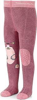 Sterntaler Krabbelstrumpfhose Katze für Mädchen, ABS-Sohle