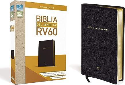 Biblia del ministro RVR 1960 (Spanish Edition)