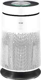 LG PURICARE 360 SINGLE AS60GDWV0 - Purificador de aire 360º con filtro HEPA 13, WiFi, ThinQ, Ionizador Plasmaster, Sensor calidad del aire y gases y función Clean Booster - Color Blanco