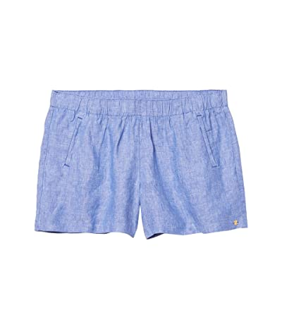 Lilly Pulitzer Lilo Shorts (Beckon Blue/Resort White) Women
