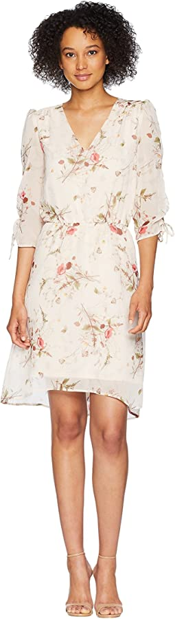 Ember Ruched Sleeve Dress