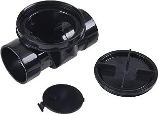 Oatey 43905 Backwater Valve, 4 In, Abs, 4-Inch Black