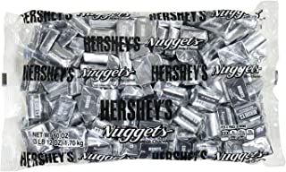 HERSHEY'S Nuggets, Gluten-Free Solid Milk Chocolate Candy, 60 Ounce Bulk Bag