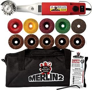 King Arthur T27201 - Merlin 2 Premium, 110V Variable-Speed Mini-Angle Grinder