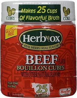 Herb-Ox Beef Cubes, 3.25 oz