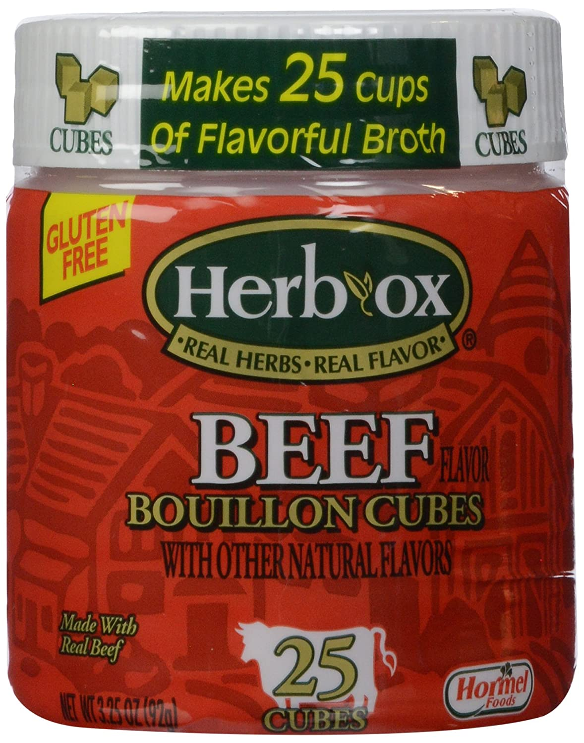Herb-Ox Beef Free shipping Cubes oz Bombing new work 3.25