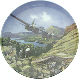 Bradford Exchange Royal Doulton Mosquito Over The Lakes Heroes of The Sky Plate CP667