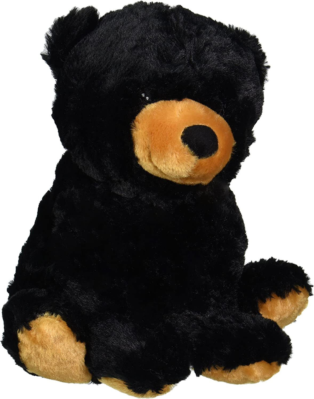 Wishpets 15 Sitting schwarz Bear Plush Toy
