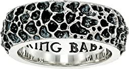 King Baby Studio Lava Rock Textured Band Ring