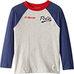Cotton Jersey Baseball T-Shirt (Little Kids/Big Kids)
