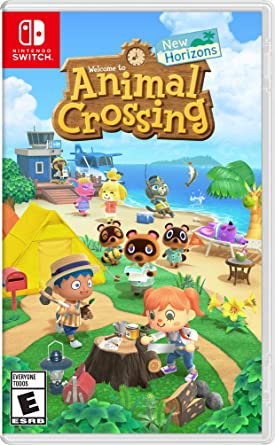 Animal Crossing New Horizon Nintendo Switch;