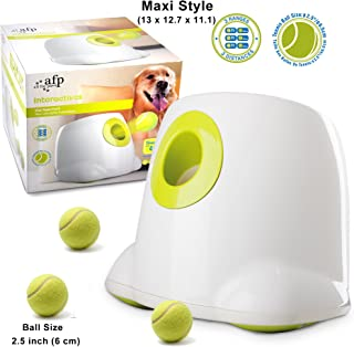 AFP Automatic Ball Launcher Dog Ball Thrower Machine Hyper Fetch Tennis Ball (Maxi)