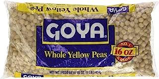 Goya Whole Yellow Peas 16 oz