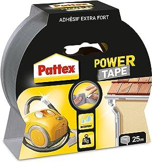 Pattex Weefseltape Power Tape, (B) 50 mm x (L) 25 m, grijs