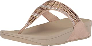 FitFlop Womens L93 Strobe Luxe Toe-Thong Sandals