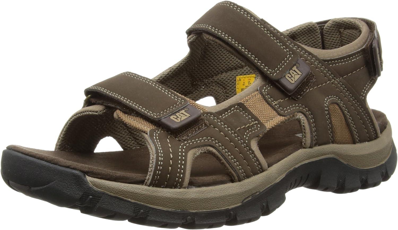 Cat Footwear Giles, Sandalias de Punta Descubierta Hombre