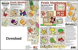 ScrapSMART - Fruit Market Clip Art - Software Collection - PDF & Jpeg files [Download]