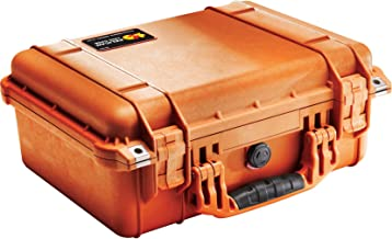 Pelican 1450 Case With Foam (Orange)