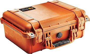 Pelican 1450 Case With Foam (Orange)