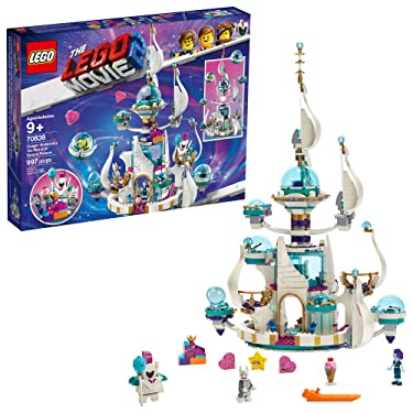THE LEGO MOVIE 2 Queen Watevra's 'So-Not-Evil' Space Palace 70838 Building Kit (995 Pieces) (Discontinued by Manufacturer)