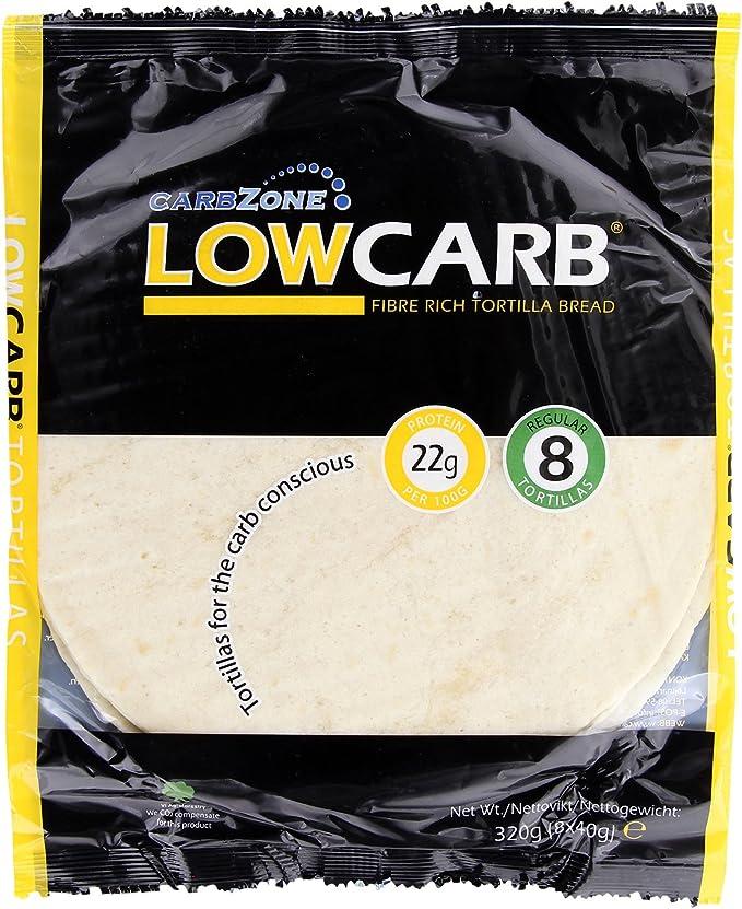 Tortilla baja en hidratos 320 g - (Paquete de 2)