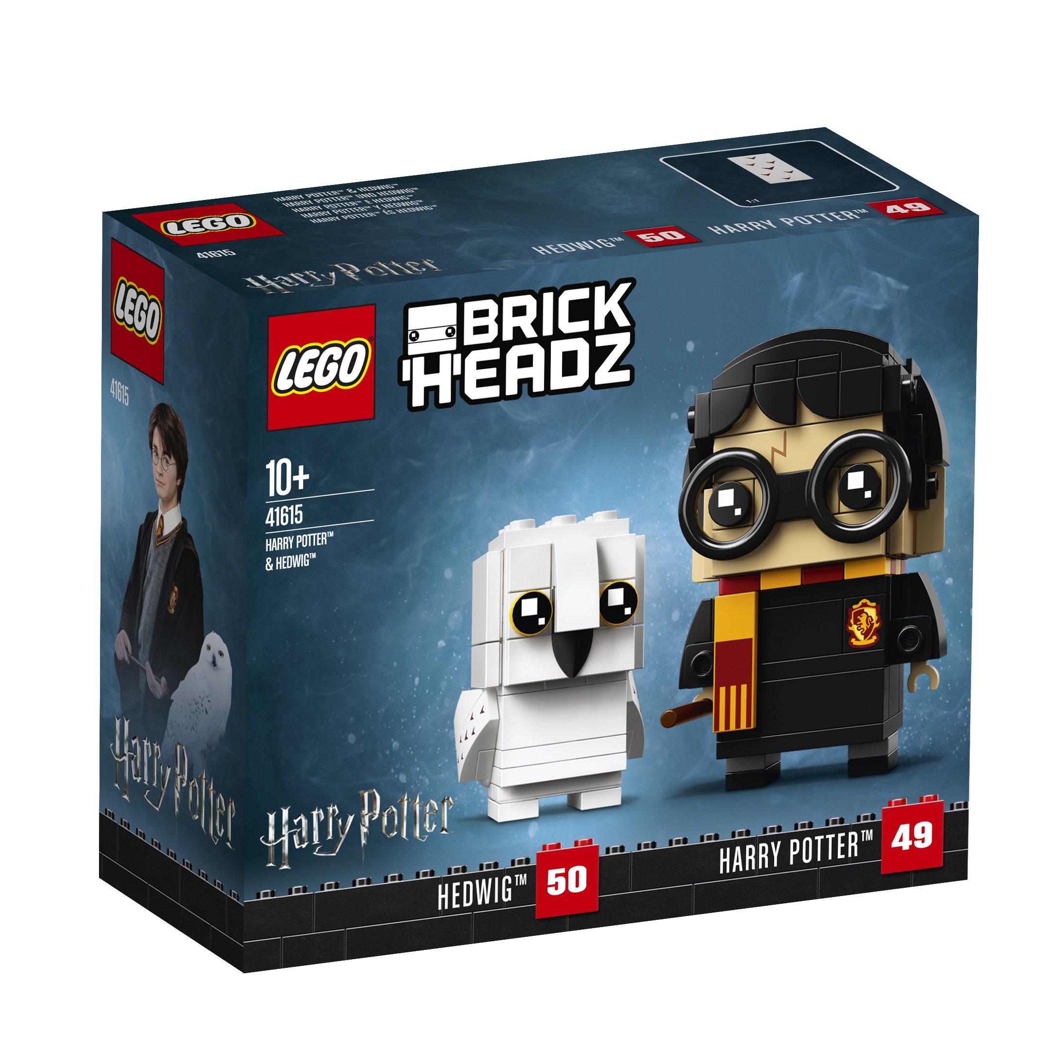 LEGO Brickheadz - Harry Potter™ y Hedwig™ (41615): Amazon.es ...