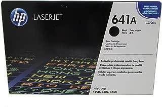 HP C9720A 641A Color LaserJet 4600 4610 4650 Toner Cartridge (Black) in Retail Packaging
