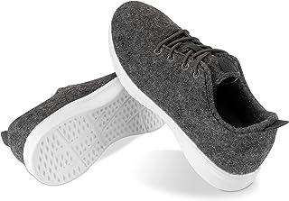 Kaulfus Merino Sneaker - Bequeme Schuhe aus atmungsaktiver Merino Wolle für Damen und Herren